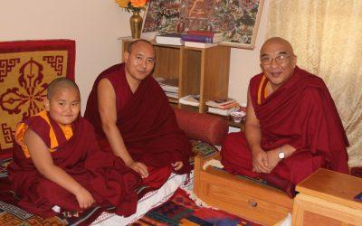 Taksham Tulku Tenzin Gyurme Thinley Dorjee reads the Treasury of Precious Qualities
