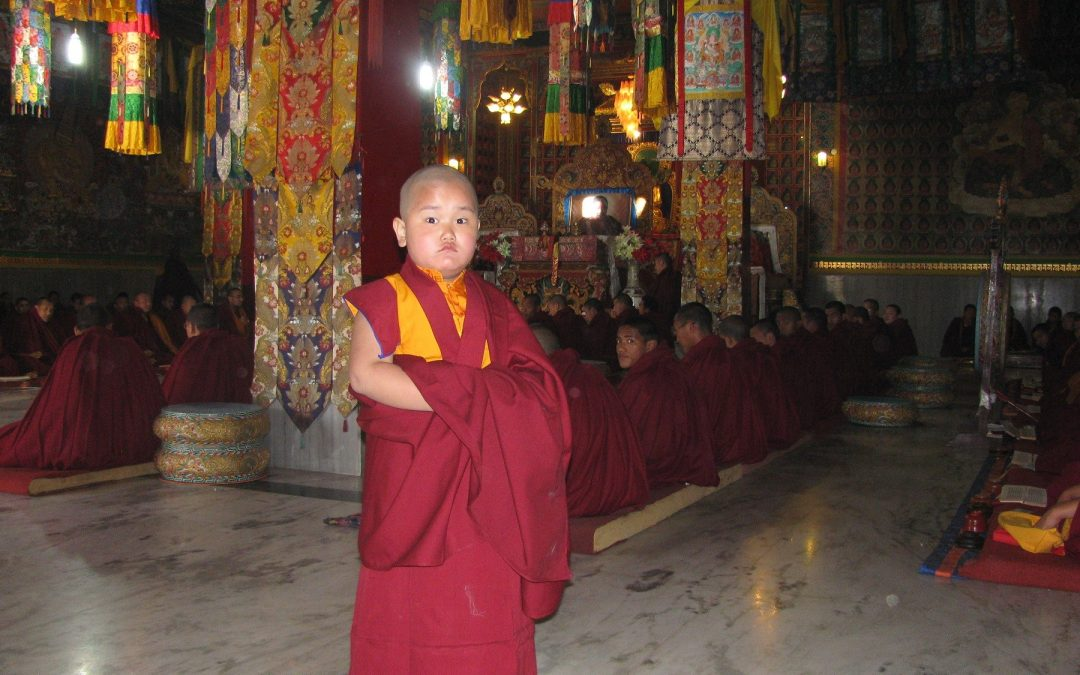 Taksham Tulku Tenzin Gyurme Thinley Dorjee reads the Jewel Mala, the history of the Great Lotus Born Master.
