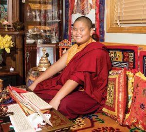 Photograph of Taksham Tulku Rinpoche by Ackerman + Gruber