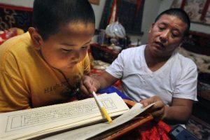 Image of Taksham Tulku Rinpoche and Dorje Tsegyal.